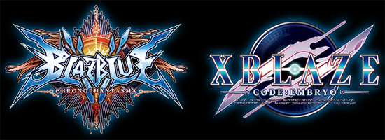 BLAZBLUE CHRONOPHANTASMA × XBLAZE CODE:EMBRYO