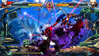 BLAZBLUE CHRONOPHANTASMA EXTEND スクリーンショット