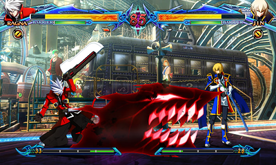 BLAZBLUE CHRONOPHANTASMA